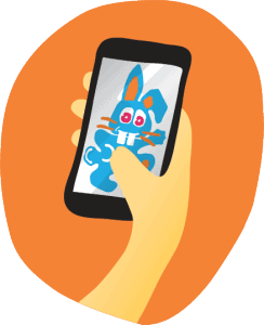 mobile bunny: surfing via iPad, iPhones and tablets